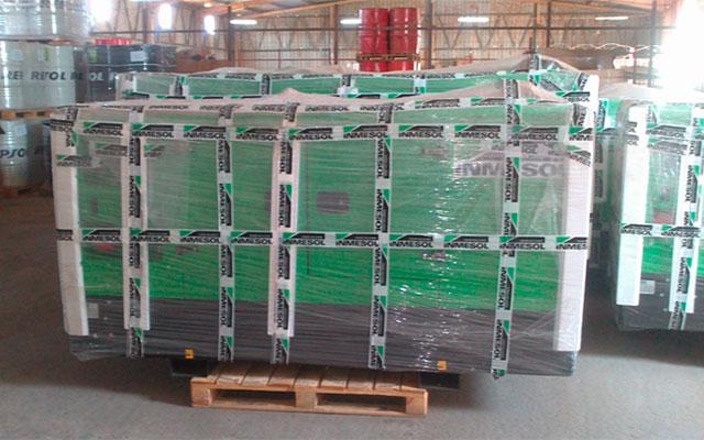 Электрогенераторные установки Inmesol на складе компании NGRC в Луанде (Ангола)