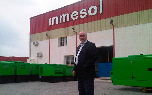 Директор NGRC Нельсон Гонзага во время приезда на фабрику Inmesol в прошлом году