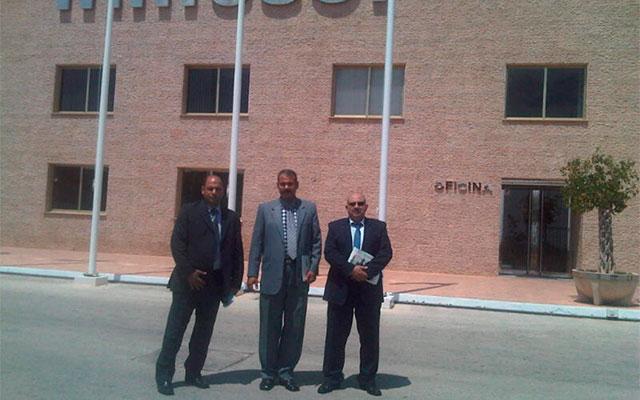 на нашей фабрике в Мурсии (Испания) делегацию египетского правительства и директора продаж дистрибьюторской компании в Египте, Egyptian Consulting & Trading Company (ECTRA)