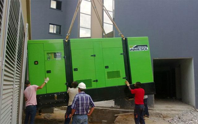 систему электрогенераторных установок с параллельным подключением в новом городском комплексе