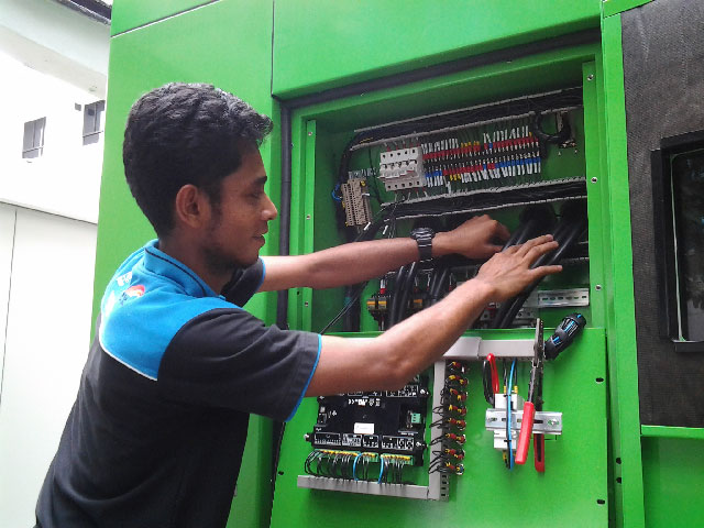 Installer generators set -Генераторы Inmesol