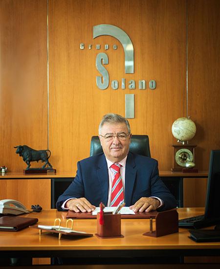 Г-н Хосе Луис Солано, основатель и президент Группы Solano