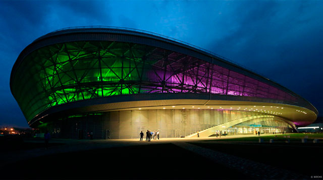 Конькобежный центр «Олимпийский овал» Sochi 2014