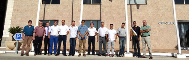 Latin American Distributors, Directors, Technical and Sales Manager of Inmesol