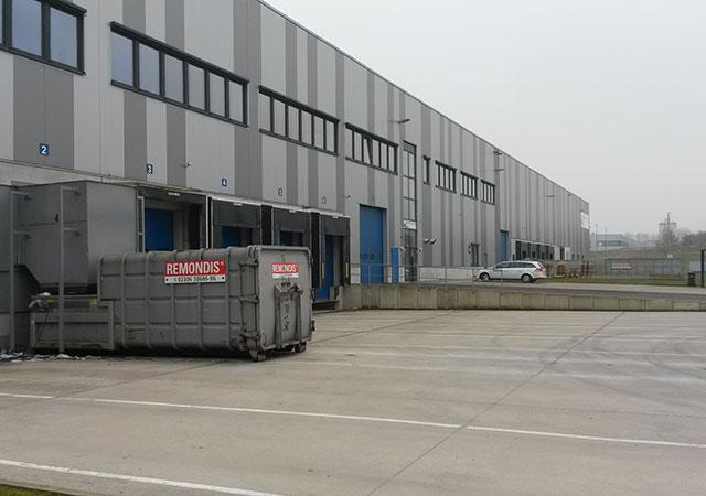 Дистрибьюторский склад фармацевтических товаров в Верне (Германия)