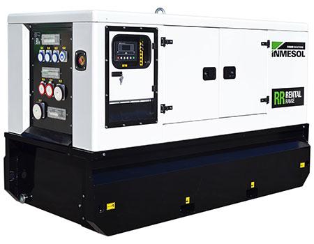 Генератор гаммы Rental c мотором FPT-IVECO, модель IIR-066