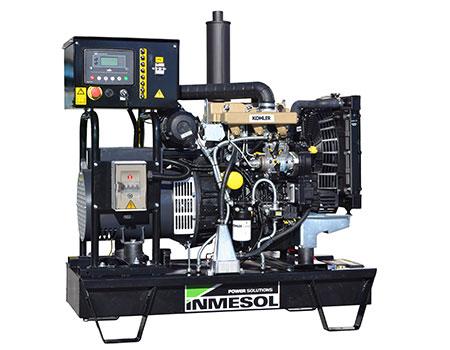 Открытый генератор для работы в аварийном режиме с мотором Kohler, модель IK-022
