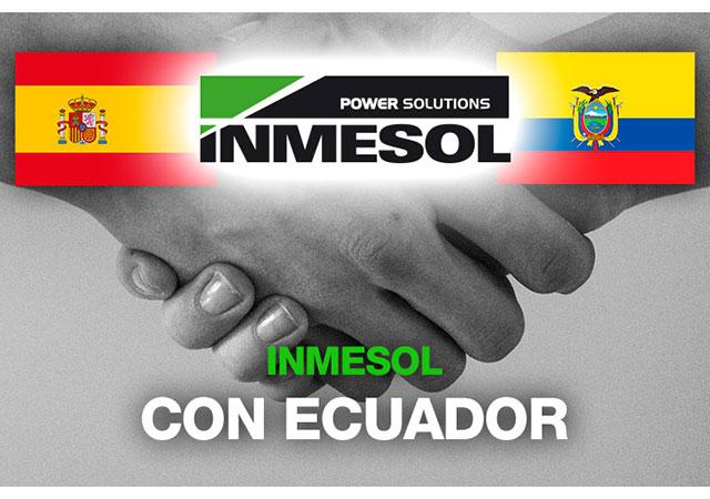 Inmesol оказывает поддержку народу эквадора
