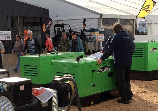 """На выставочном шоу """"National Agricultural Fieldays"""" было продемонстрировано несколько генераторных установок компании Inmesol"""