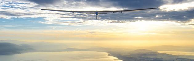 Самолет на солнечных батареях приземлился в Севилье
