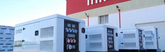 Арендные электрогенераторные установки INMESOL