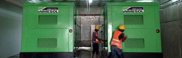 Два электрогенераторных модуля 1010 кВА LTP недавно были установлены в подвальном помещении госпиталя Las Colinas