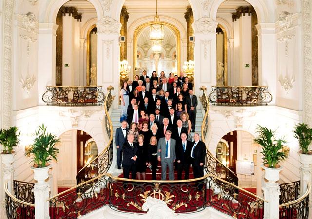 Групповая фотография всех участников празднования