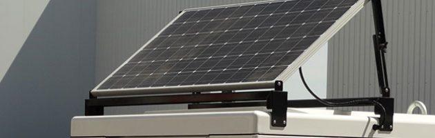 Солнечная панель, питающая зарядное устройство