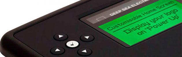 Контрольный модуль DSE73XX оснащен настраиваемым экраном