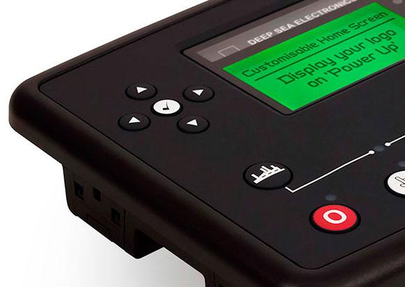 Новые контрольные блоки dse xx теперь более усовершенствованные  Контрольный модуль dse73xx оснащен настраиваемым экраном