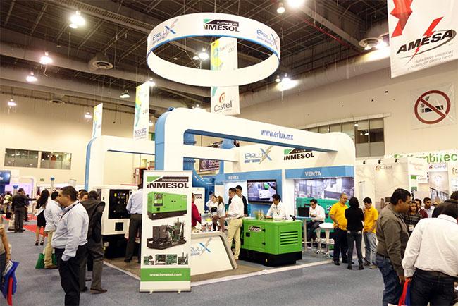 Системы генераторов INMESOL, представленные на Expo Eléctrica Internacional 2017