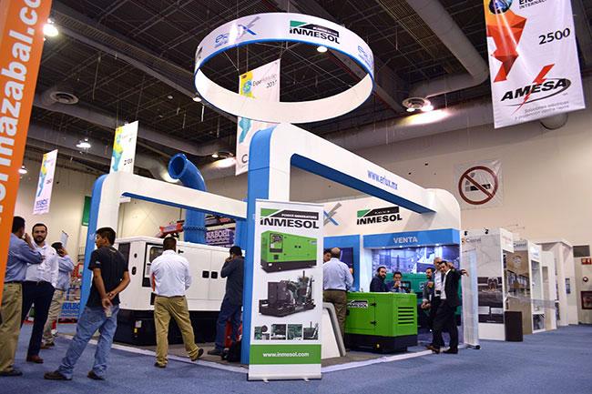 Стенд ERLUX Power Group на международной выставке Expo Eléctrica