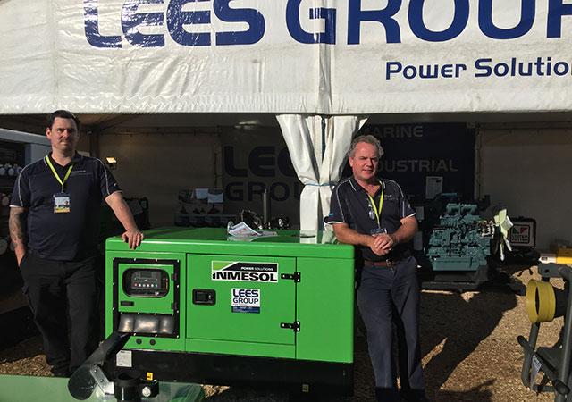 Персонал коммерческого и промышленного отделов компании LEES GROUP Power Solutions