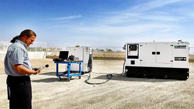 Снижение шумового загрязнения генераторы INMESOL из арендного диапазона уже включают