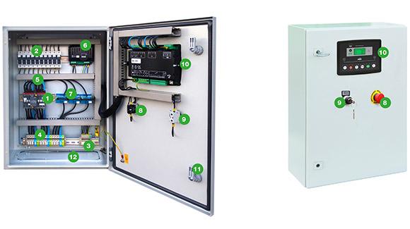 Автоматический щиток управления, обеспечивающий поочередное использование электрогенераторных установок