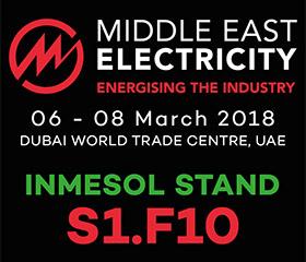 INMESOL на Ближнем Востоке Электричество 2018 в стенде S1.F10