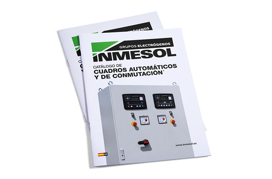 Каталог автоматических панелей управления и автоматических систем переключения/запуска компании INMESOL